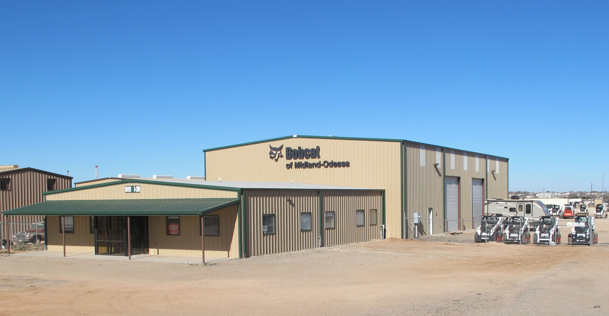 Official Bobcat Equipment Dealer in Midland-Odessa